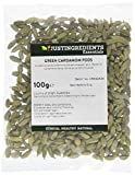 JustIngredients Essential Kardamomkapseln grün, Cardamom Pods Green, 1er Pack (1 x 100 g)