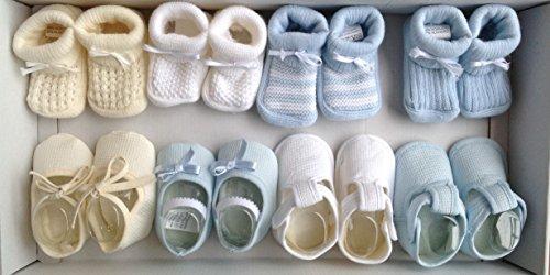 Patuco bebe niño 8 pares