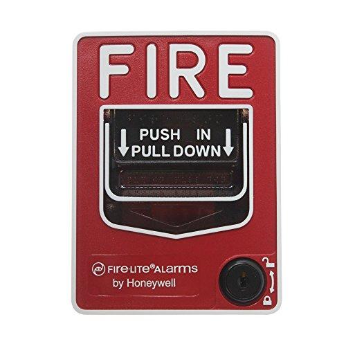 Fire Lite Alarms BG-12L Dual Action Pull Station w/Key Lock