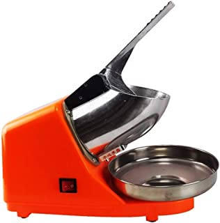 Automatic Smoothie Machine, 300W High Power Stainless Steel Ice Blender, Ice Machine, Tea Shop Dedicated Snow Cone Ice Cru...