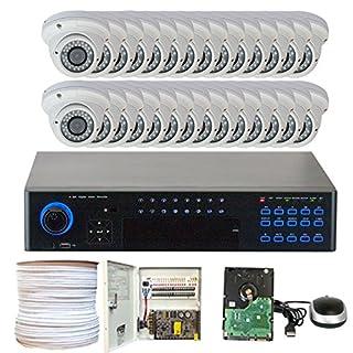 GW Security VBX28CHP5 32 CH Security DVR, 28 x 1/3-Inch Sony CCD Camera, 700 TVL, 2.8-12 mm Lens, 24 IR LEDs, 70-Feet IR (Colorful) (B00QS88DYI) | Amazon price tracker / tracking, Amazon price history charts, Amazon price watches, Amazon price drop alerts