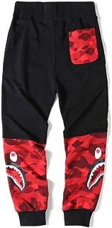 Ciino Bape Men's Camo Printed Comfortable Casual Sweatpants Loose Jogging Pants
