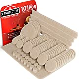 X-PROTECTOR Premium Pack Furniture Pads 101 Piece! Furniture Feet Felt Pads - Your Best Value Pack Wood Floor Protectors. Protect Your Hardwood & Laminate Flooring with 100% Satisfaction!
