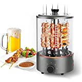 Vertical Multi-Function Rotisserie Oven, Electric Grill Countertop Oven 360 Degree Home Automatic Rotating