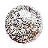 BESPORTBLE Pailletten Strandball Pool Spielzeug Bälle Konfetti Glitter Aufblasbare Klare Bälle...