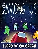 Among Us Libro De Colorear: Un bonito cuaderno de actividades para niños y niñas