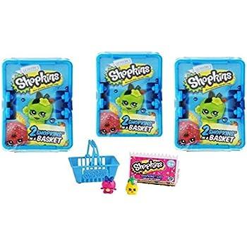 Shopkins Shopping Basket x 3 (assorted) | Shopkin.Toys - Image 1