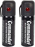 Commander Self Defense Pepper Spray for Women Safety/Protection, 55 ml Compact Size