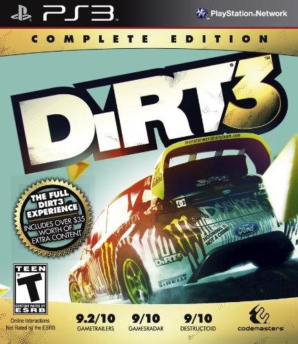 Codemasters Colin McRae: DiRT 3 - Complete Edition, PS3 PlayStation 3 Inglés vídeo - Juego (PS3, PlayStation 3, Racing, Modo multijugador, T (Teen))