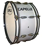 Capelle PB20 Marching Bass Drum Head-White, 20 Inch