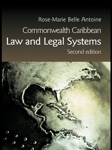 Commonwealth Caribbean Law and Legal Systems (English Edition) PDF Books