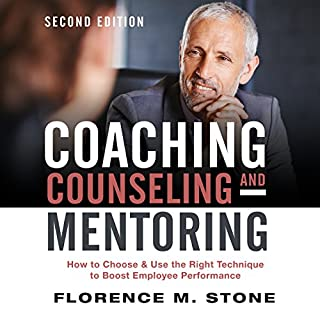 Coaching, Counseling & Mentoring, Second Edition audiobook cover art