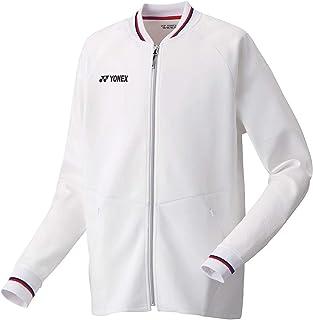 [ヨネックス(YONEX)] ニットウォームアップシャツ(フィットスタイル) 50085 011 ホワイト L