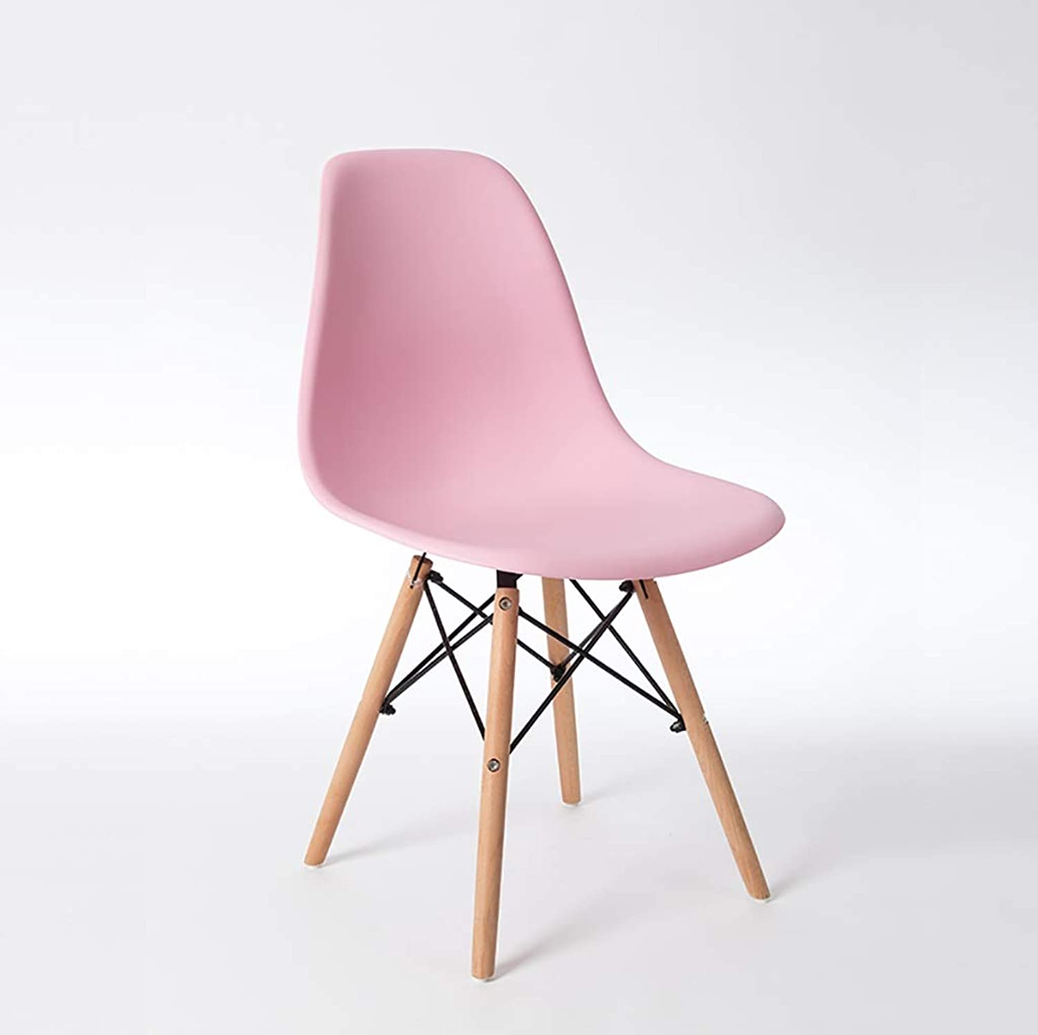 Desk Chair Fashion Plastic Sitting Surface Backrest Meeting Room Reception Chair Restaurant Bar Minimalist Chairs Living Room, Study, Computer Chair (5 colors are Optional) Size  38.5  46  80cm