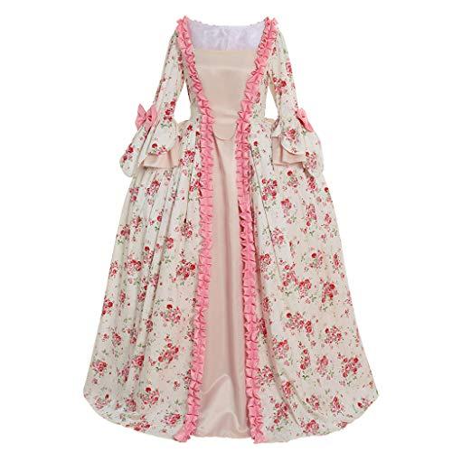 CosplayDiy Damen Rokoko Ballkleid Gothic Viktorianisches Kleid - - Medium