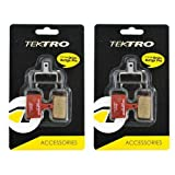 Tektro P20.11 Disc Brake Pads Metal Ceramic Compound, 2 Pack, STB1762