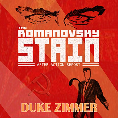 The Romanovsky Stain audiobook cover art