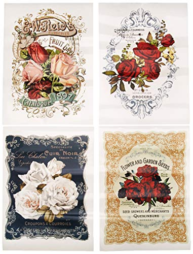Prima Marketing Inc Redesign Transfer - Wild Roses, Mixed