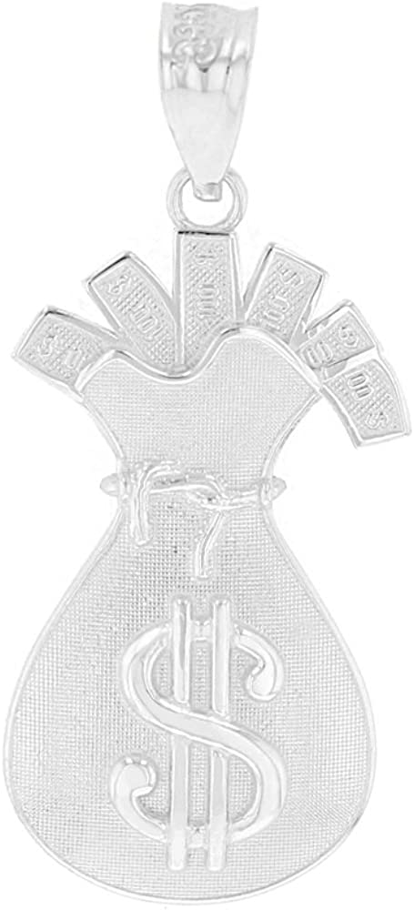 CaliRoseJewelry .925 Money Bag with Cash Pendant shop Popular standard Filled