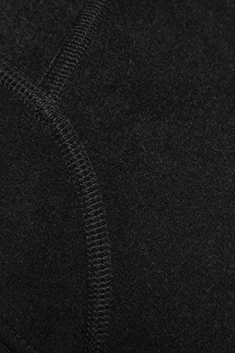 VAUDE Herren Bike Warm Cap 03278-010-5400, Helm-Unterziehmuetze, Schwarz , XS - 2