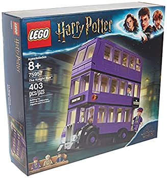 LEGO Harry Potter and The Prisoner of Azkaban Knight Bus 75957 Building Kit  403 Pieces