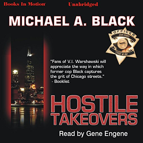 Hostile Takeovers audiobook cover art