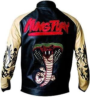 Kung Fury-David Hasselholf Cobra Biker Leather Jacket