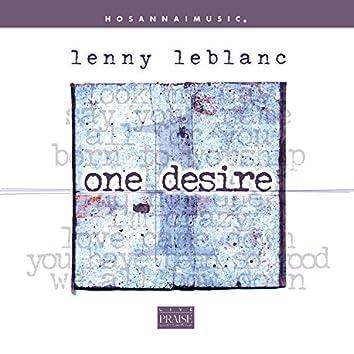 One Desire (Live)