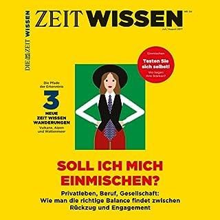 ZeitWissen, Juli / August 2017 Titelbild