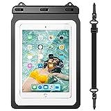 "Yokata Custodia Impermeabile Tablet IPX8 Universale Borsa Subacquea Fino a 12,9"", Spiaggia Nuoto per iPad 2/3/4, Air 2/3, Mini 2/4/5, PRO 11/12.9, Tab S3/S2, Samsung Galaxy Tab 5/4/3, Huawei, Xiaomi"