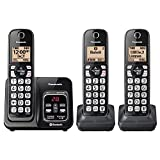Panasonic KX-TG833SK Link2Cell Bluetooth with Talking Caller ID 3...