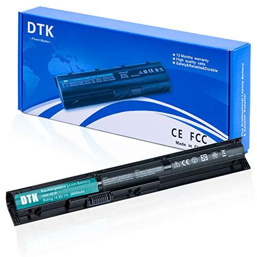 DTK Batterie Ordinateur Portable pour HP VI04 756743-001 Pavilion 15 17 Envy 14 15 17 ProBook 440 G2 / 445 G2 / 450 G2 / 455 G2 Series et Plus [14.8v 2600mAh]