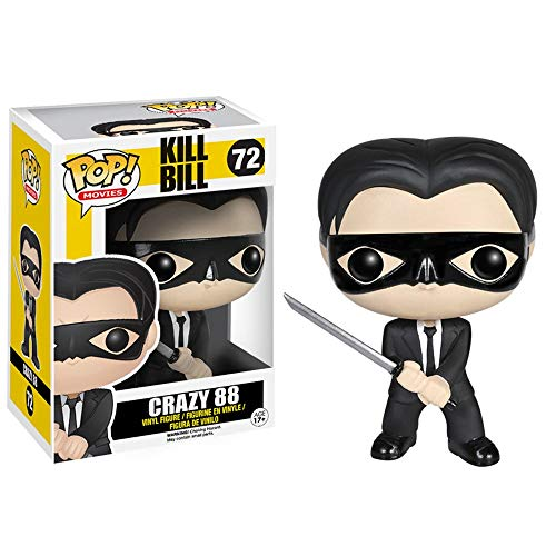 Lotoy Funko Pop Movie - Kill Bill Carzy88 #72 Vinyl 3.75inch Figure Movie Derivatives Gift