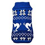 Bluelucon Weihnachten Haustier Kostüm, Stirnband Set Plüsch Geweih Haustier Hut Haustier Kostüm mit Haustier Schal