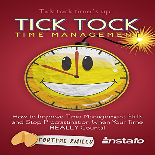 Tick Tock Time Management audiobook cover art
