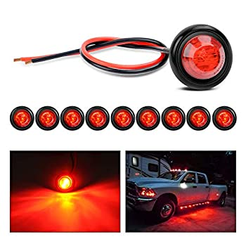 small red led light