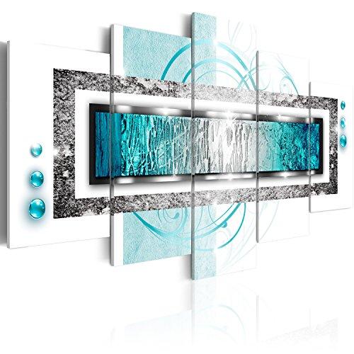 murando - Bilder 200x100 cm Vlies Leinwandbild 5 TLG Kunstdruck modern Wandbilder XXL Wanddekoration Design Wand Bild - Abstrakt a-A-0003-b-o