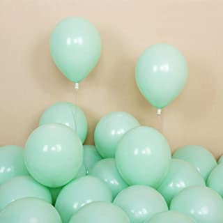 Pastel Balloons St Patricks Day 11 Wintergreen Easter Decor Pastel Green Balloon Easter Balloons Spring baby 8 Mint Green Balloons