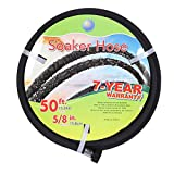 """Best Soaker Hoses - Cuckoo Soaker Hose 50ft With 5/8""""Diameter-Heavy Duty Rubber-Save Review"""