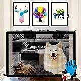 Nifogo Magic Gate für Hunde - Hundebarrieren, Portable Hund Safe Guard, Zusammenklappbar, Einfach...