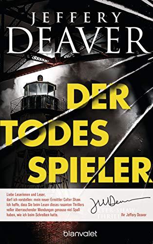 Buchseite und Rezensionen zu 'Der Todesspieler: Ein Colter-Shaw-Thriller' von Jeffery Deaver