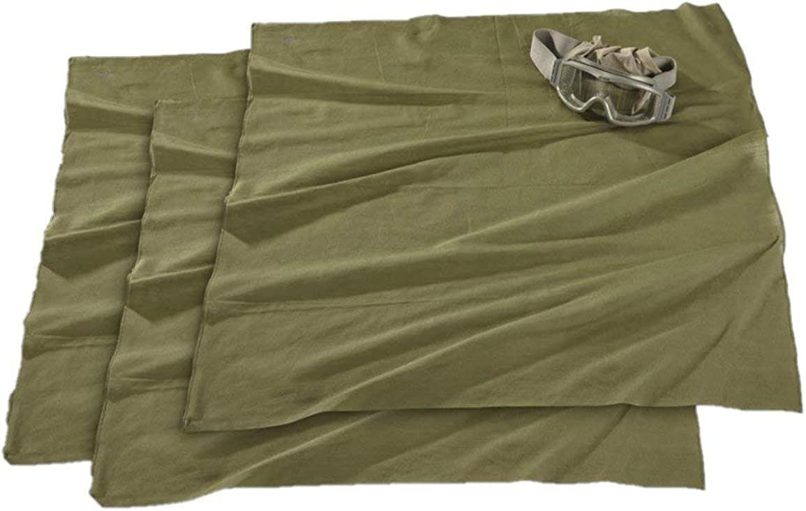 Swedish Military Shemagh Cotton Bandanna, Scarf, Face Cover - 3 Pack