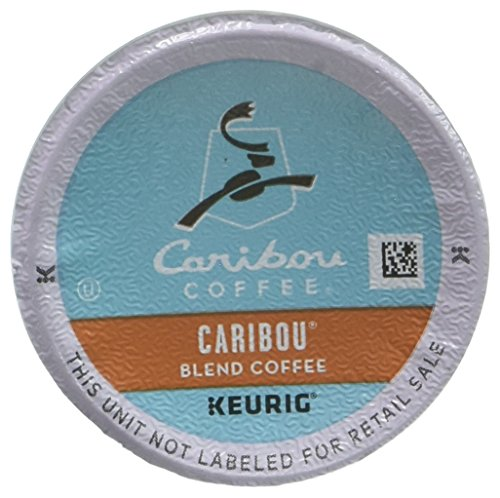 Caribou Coffee, Caribou Blend KCups, K-Cups for Keurig Brewers, 12 Count (Packaging May Vary)