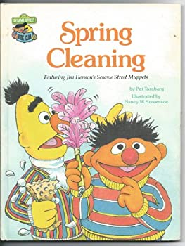 Spring Cleaning featuring Jim Henson's Sesame Street Muppets - Book  of the Sesame Street Book Club