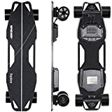 Spadger Electric Skateboard D5X Plus 37'' Boosted Longboard, 25Mph...