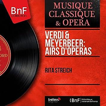 Verdi & Meyerbeer: Airs d'opéras (Mono Version)