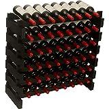 DisplayGifts Modular Stackable Storage Wine Rack...