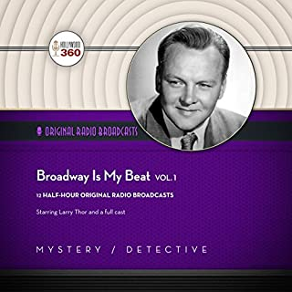Broadway Is My Beat, Vol. 1 audiobook cover art