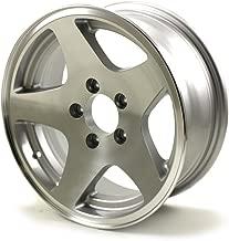 HWT 456545 15X6 5/4.5 Aluminum Series04 Trailer Wheel