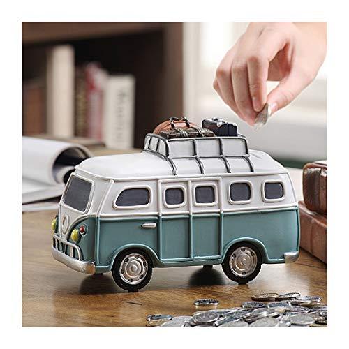 Productos de almacenamiento de dinero Hucha Niño de gran capacidad del coche hucha de juguete creativo lindo de la caja de dinero de cumpleaños Recuerdos Salón Dormitorio decoración de escritorio huch